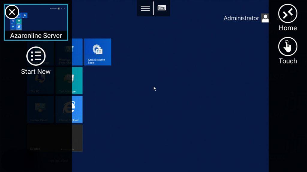 Android Remote Desktop 7 1024x574 1 - آموزش اتصال به سرور مجازی ویندوز با گوشی اندروید