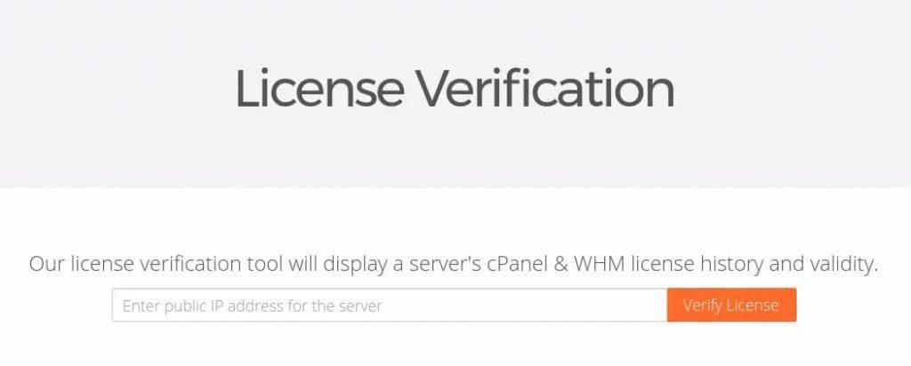 cPanel WHM License Verification 1024x412 1 - چک کردن لایسنس سی پنل