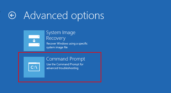 command prompt - نحوه تغییر رمز اکانت Administrator در ویندوز سرور 2012