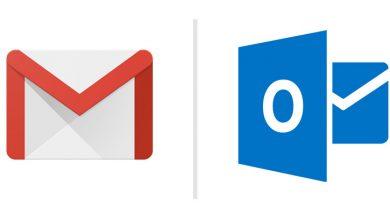 gmail vs outlook best free email service provider 1 390x220 - آموزش Forward کردن ایمیلها در Cpanel