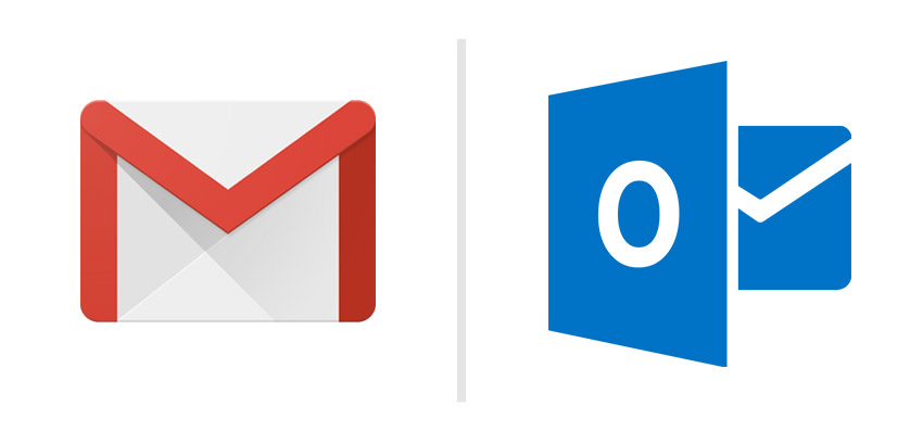 gmail vs outlook best free email service provider 1 - آموزش Forward کردن ایمیلها در Cpanel
