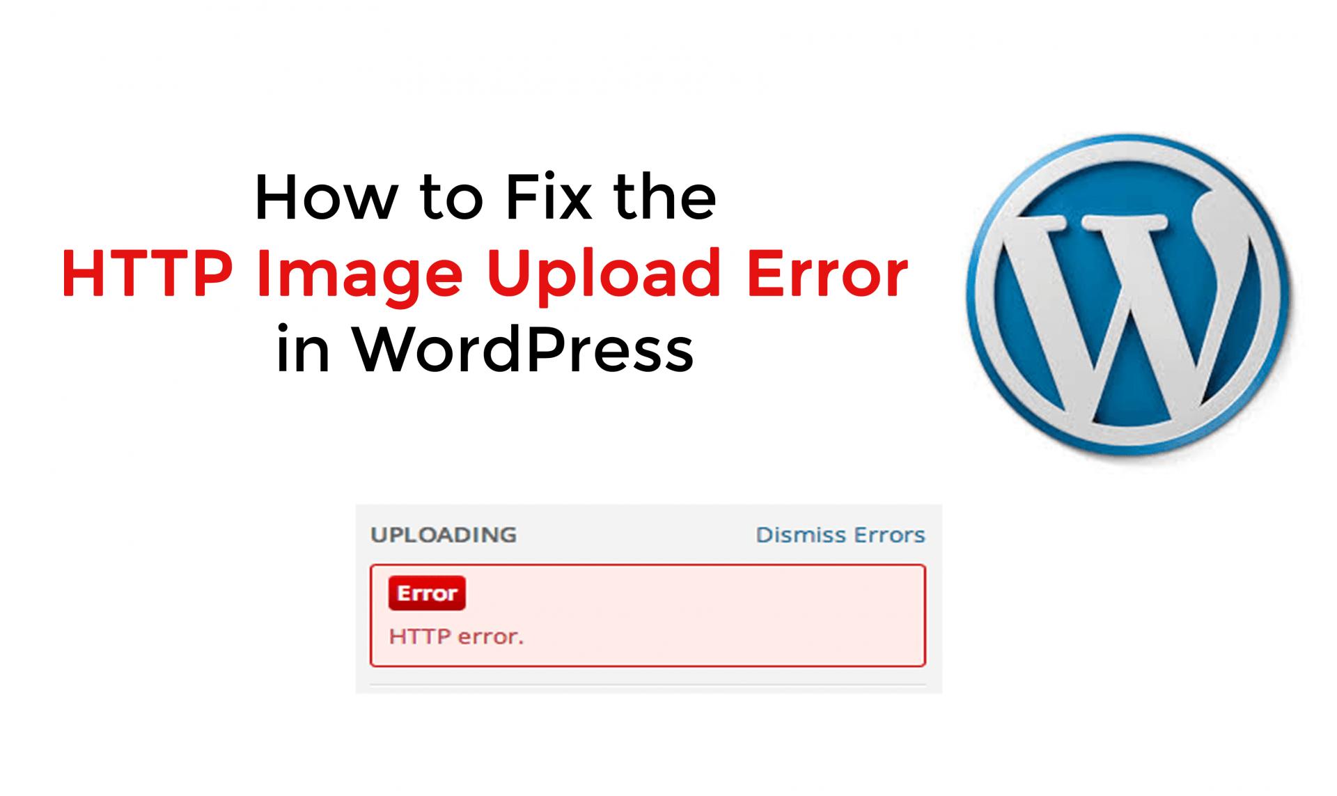 http error - رفع خطای HTTP هنگام آپلود در وردپرس