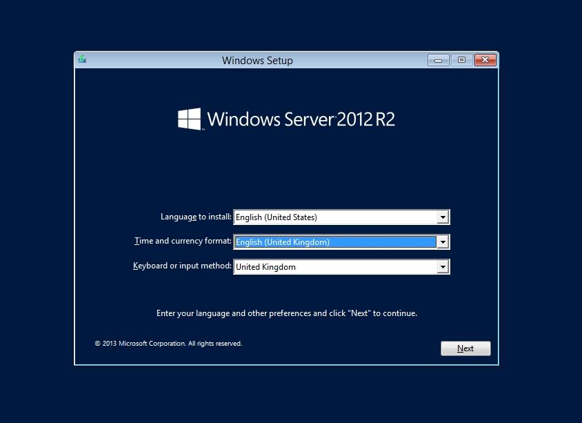 windows 2012 install gui - نحوه تغییر رمز اکانت Administrator در ویندوز سرور 2012