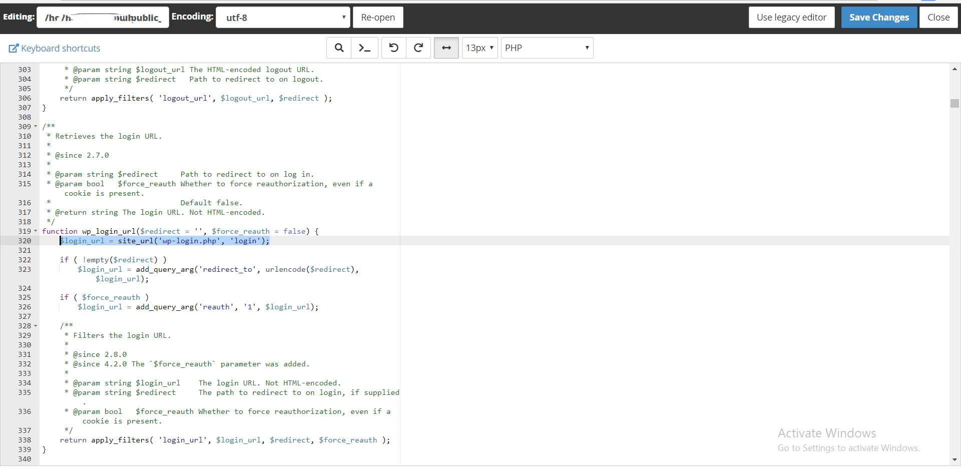 wp login4 1 - تغییر لینک ورود wp-admin در وردپرس