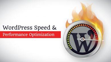 wordpress speed performance 390x220 - افزایش سرعت لود سایت وردپرس