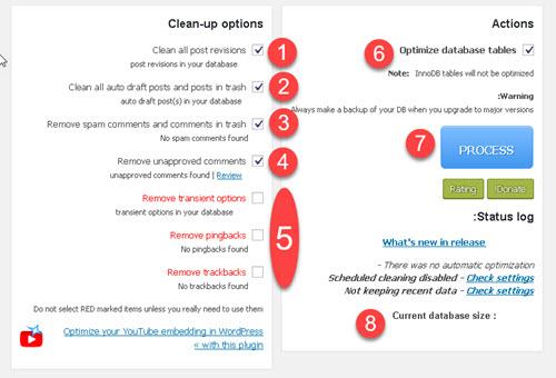 wp optimize wordpress plugin - افزایش سرعت لود سایت وردپرس