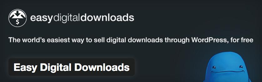 Easy Digital Downloads - بهترین افزونه های فروشگاه اینترنتی وردپرس