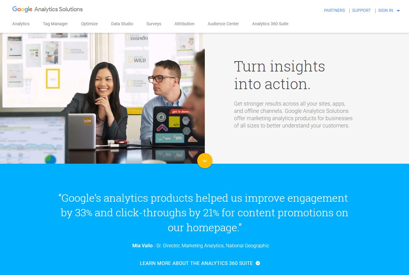 Google Analytics - ابزارهای تجزیه و تحلیل وب سایت