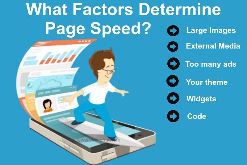 page speed - عوامل تاثیرگذار در سرعت بارگذاری وب سایت