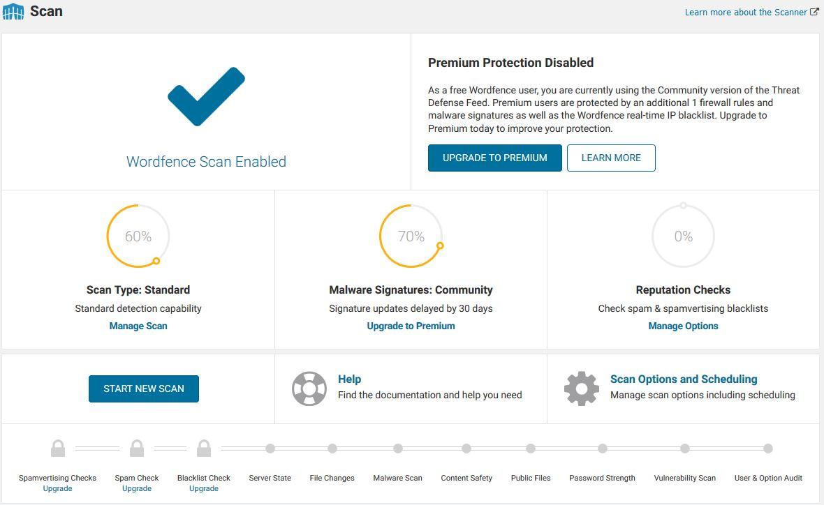 setup wordfence 2 - اسکن و افزایش امنیت وردپرس با افزونه wordfence