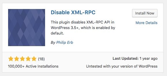xmlrpc plugin - حملات XML-RPC