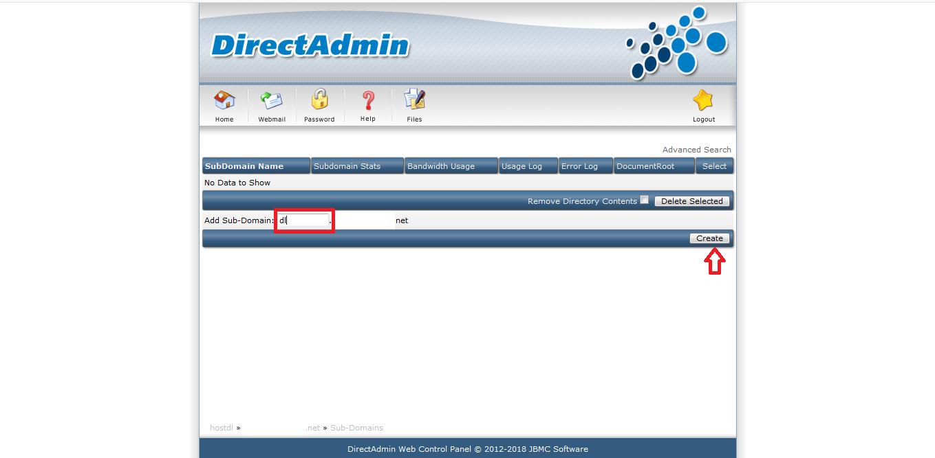 connect subdomain to dlhost02 - نحوه اتصال هاست دانلود به هاست اصلی سایت