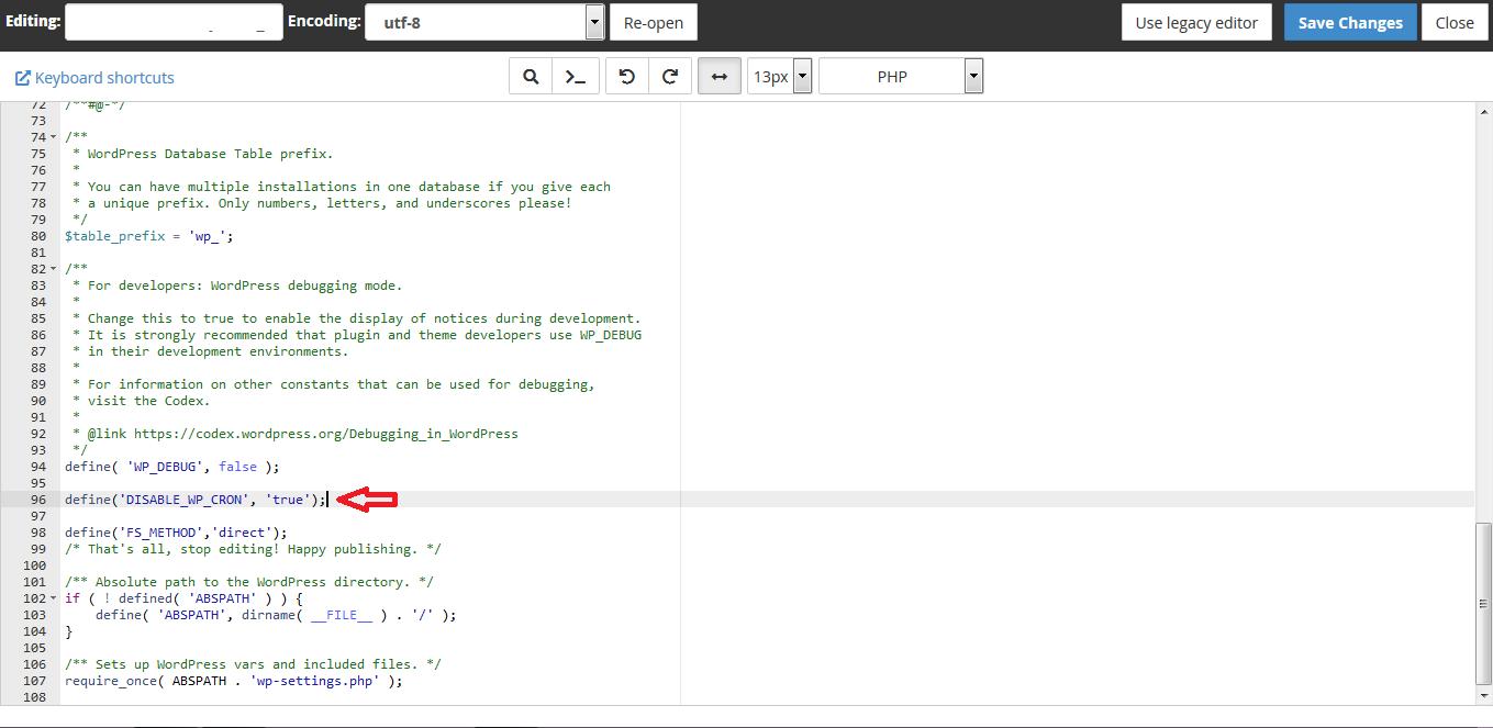 disable wpcron 01 - نحوه غیرفعال سازی wp-cron.php