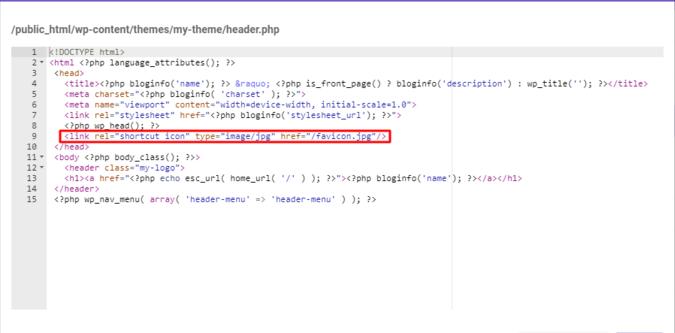 add favicon for website02 - نحوه اضافه کردن فاو ایکون - Favicon به سایت