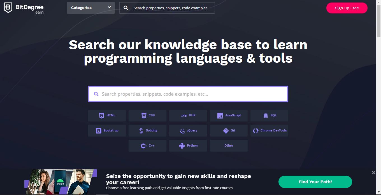 top 25 site coding01 - 15 تا از بهترین سایت های آموزش برنامه نویسی