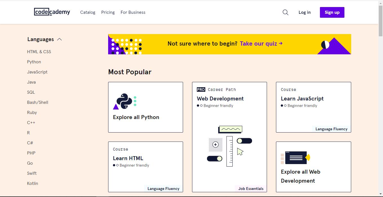 top 25 site coding03 - 15 تا از بهترین سایت های آموزش برنامه نویسی