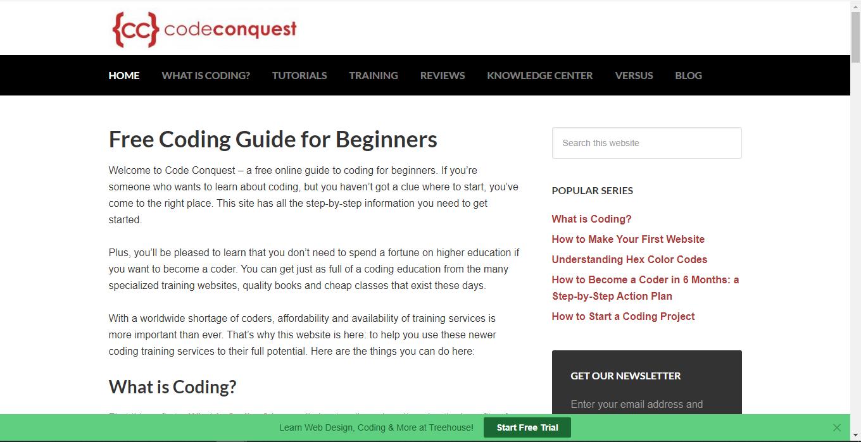 top 25 site coding11 - 15 تا از بهترین سایت های آموزش برنامه نویسی