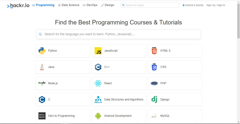 top 25 site coding15 - 15 تا از بهترین سایت های آموزش برنامه نویسی