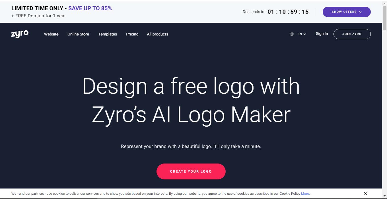 top 8 free logo maker01 - 5 تا از بهترین لوگو ساز های رایگان