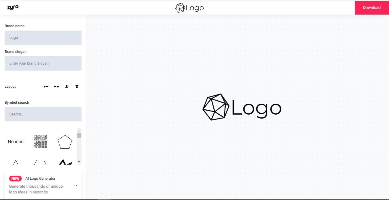 top 8 free logo maker02 - 5 تا از بهترین لوگو ساز های رایگان
