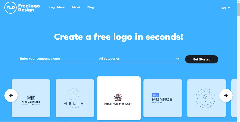 top 8 free logo maker05 - 5 تا از بهترین لوگو ساز های رایگان
