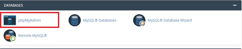 change wordpress url in mysql database phpmyadmin03 - نحوه تغییر URL های وردپرس در MySQL با استفاده از phpMyAdmin