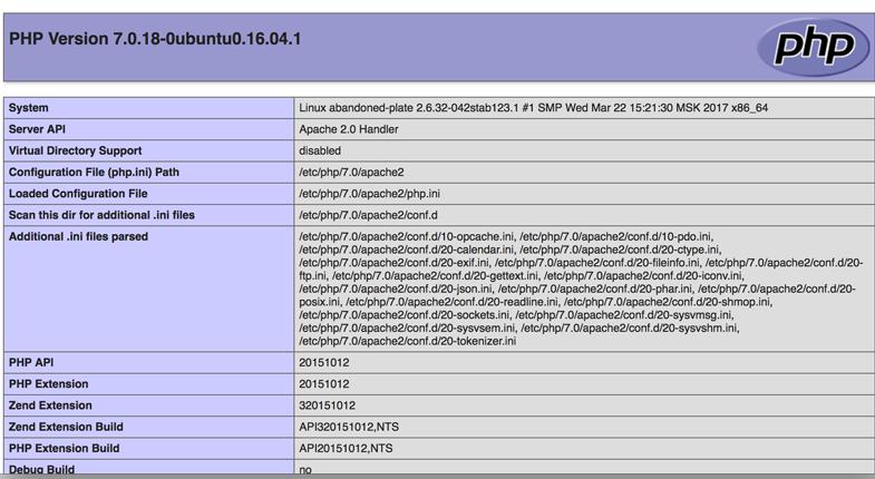 install Apache mysql php on ubuntu 16 04 03 - نصب Apache   MySQL   PHP – LAMP در Ubuntu 16.04