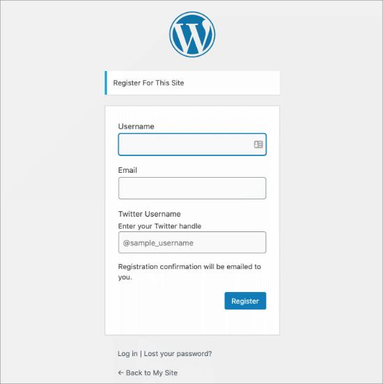 how to add additional user profile fields in wordpress registration07 - افزودن فیلد جدید به صفحه عضویت وردپرس