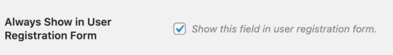 how to add additional user profile fields in wordpress registration09 - افزودن فیلد جدید به صفحه عضویت وردپرس