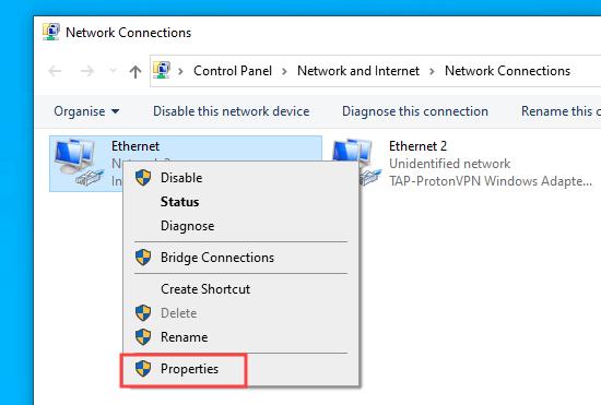 how to easily fix the dns probe finished nxdomain error09 - آموزش تصویری رفع ارور DNS_PROBE_FINISHED_NXDOMAIN