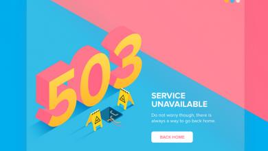 رفع ارور 503 service unavailable shakhes 390x220 - رفع ارور 503 Service Unavailable
