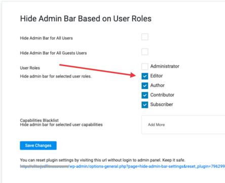 disable wordpress admin bar for all users04 - نحوه غیرفعال کردن نوار مدیریت وردپرس برای کاربران