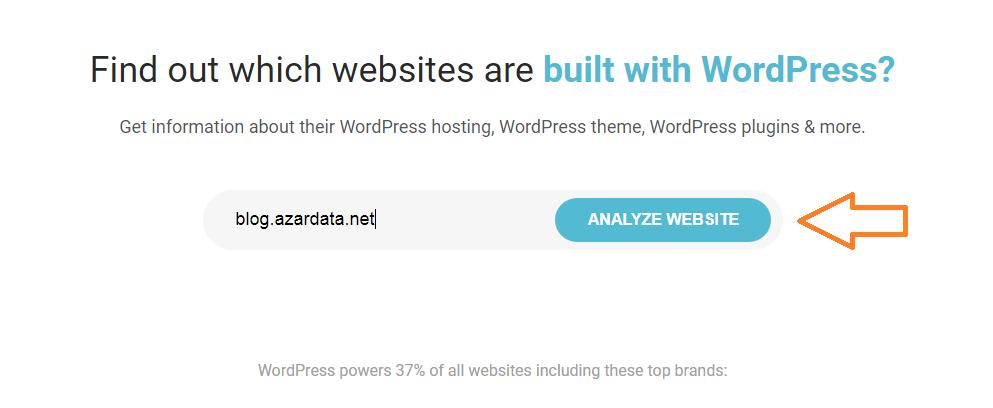 find which wordpress theme a site using03 - چگونه بفهمیم سایت موردنظر از چه قالبی استفاده میکند