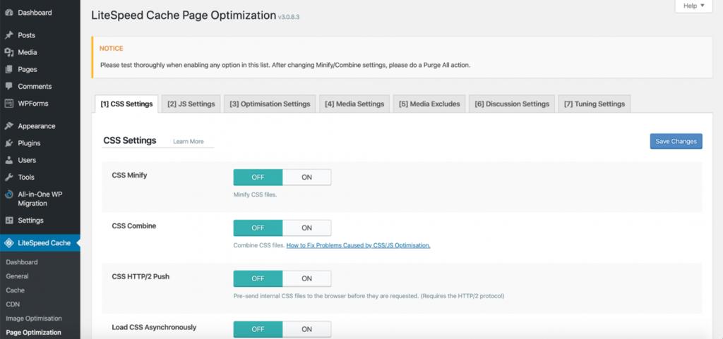 litespeed website optimization tool03 - معرفی LiteSpeed - ابزار بهینه سازی وب سایت شما