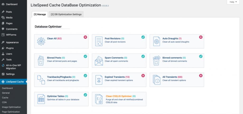 litespeed website optimization tool04 - معرفی LiteSpeed - ابزار بهینه سازی وب سایت شما