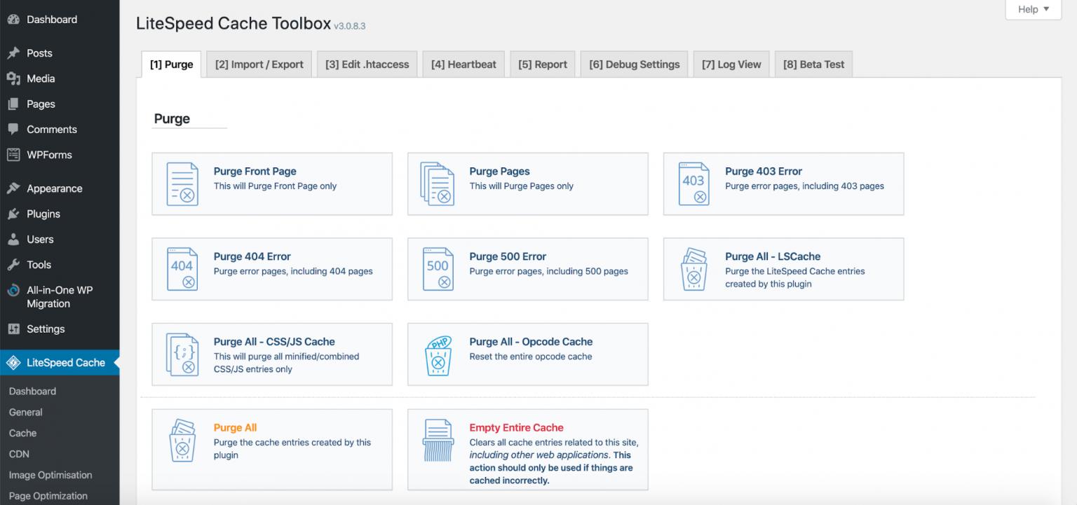 litespeed website optimization tool05 - معرفی LiteSpeed - ابزار بهینه سازی وب سایت شما