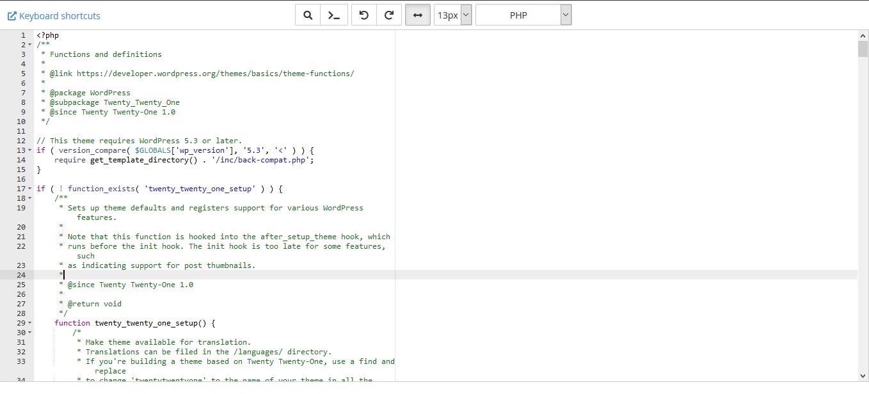 useful codes for functions file in wp02 - کد های کاربردی برای فایل فانکشن در وردپرس