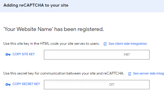 add recaptcha to wordpress comment form08 - آموزش افزودن کپچا به فرم نظرات وردپرس - reCAPTCHA