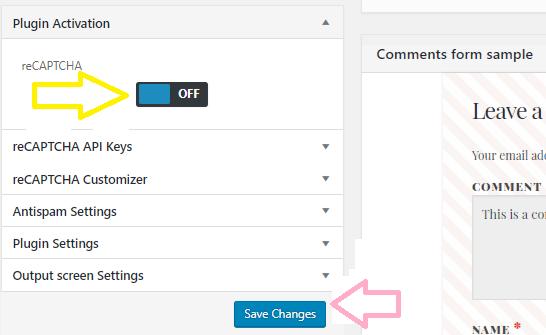 add recaptcha to wordpress comment form10 - آموزش افزودن کپچا به فرم نظرات وردپرس - reCAPTCHA