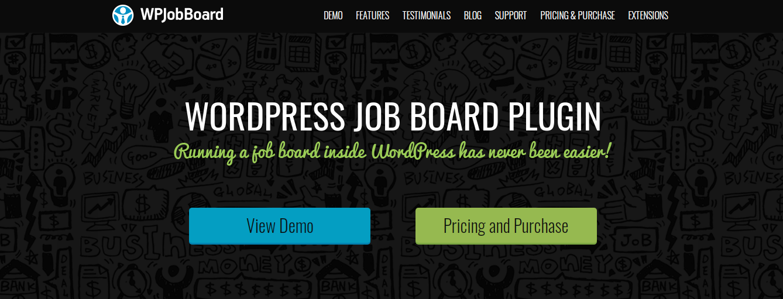 best wordpress jobboard plugins and themes 03 - برترین افزونه ها برای ساخت سایت کاریابی در وردپرس