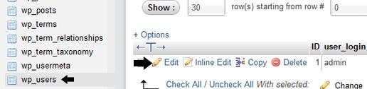 change wordpress username 06 - چگونه نام کاربری وردپرس خود را تغییر دهیم (مرحله به مرحله)