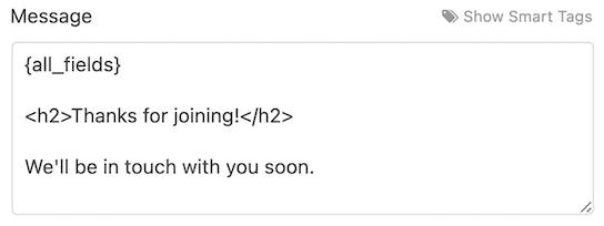 send confirmation emails after wordpress form submission 10 - نحوه ارسال ایمیل تایید پس از پرکردن فرم در سایت
