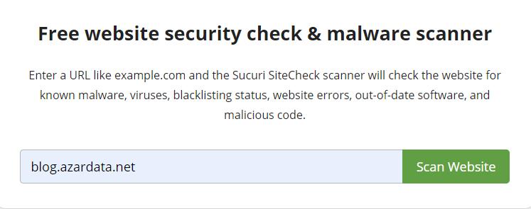 wordpress vulnerability scanners online 01 - بهترین آنتی ویروس برای سایت وردپرس - اسکن وبسایت وردپرس