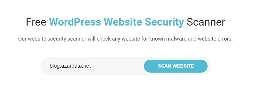 wordpress vulnerability scanners online 02 - بهترین آنتی ویروس برای سایت وردپرس - اسکن وبسایت وردپرس