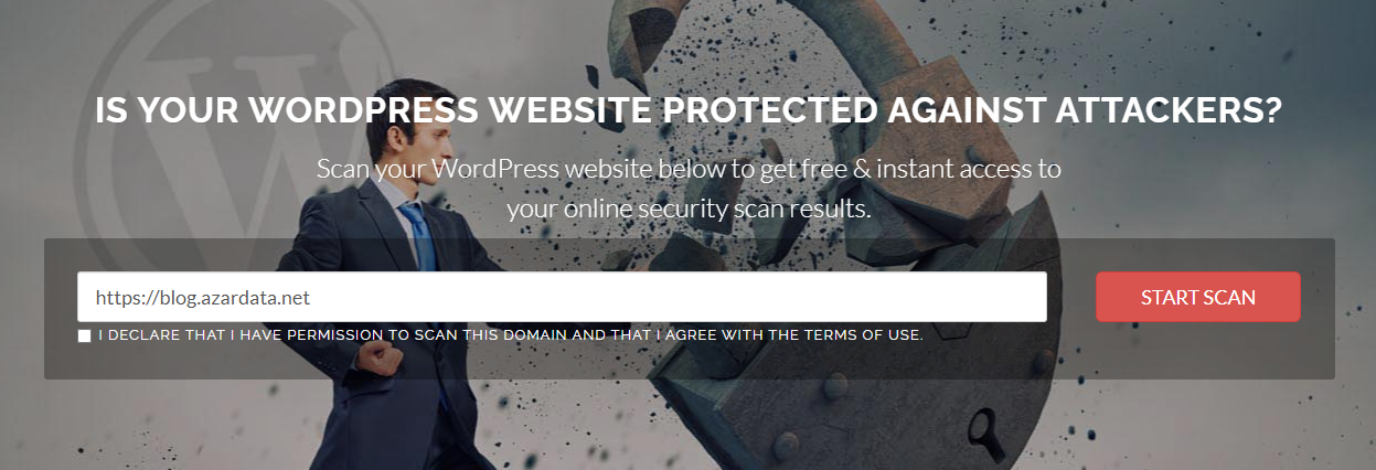 wordpress vulnerability scanners online 04 - بهترین آنتی ویروس برای سایت وردپرس - اسکن وبسایت وردپرس