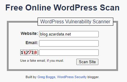 wordpress vulnerability scanners online 05 - بهترین آنتی ویروس برای سایت وردپرس - اسکن وبسایت وردپرس