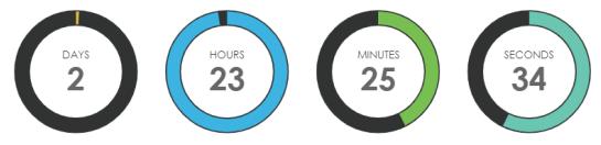 best countdown plugins for wordpress 03 - بهترین افزونه تایمر شمارش معکوس برای وردپرس