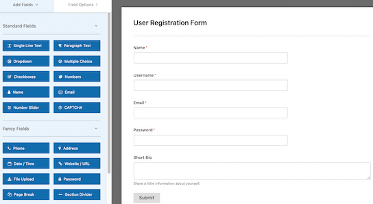 best wordpress user registration plugins 02 - بهترین افزونه ثبت نام و ورود برای وردپرس - ساخت فرم ثبت نام حرفه ای