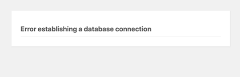 fix error establishing a database connection in wordpress 01 - آموزش رفع ارور Establishing a Database Connection در وردپرس