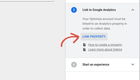 how to ab split testing in wordpress using google analytics 03 - نحوه انجام تست تقسیم A/B در وردپرس با استفاده از Google Optimize